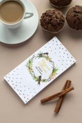 Шоколад с Вашим именем «Пасхальный венок»