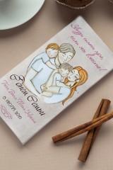 Шоколад с Вашим именем С днем семьи
