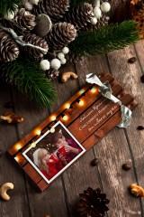 Шоколад с Вашим именем «Теплые пожелания»