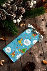 Шоколад с Вашим именем Подарок на год петуха