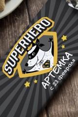 Шоколад с Вашим именем Супергерой