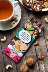 Шоколад с Вашим именем Комикс про любовь