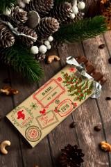 Шоколад с Вашим именем Новогодние штампы