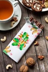 Шоколад с Вашим именем «Фруктовый букет»