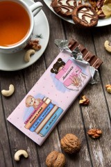 Шоколад с Вашим именем Для ученицы