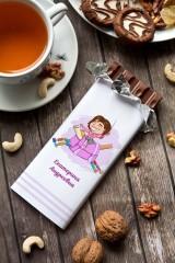 Шоколад с Вашим именем Учительнице