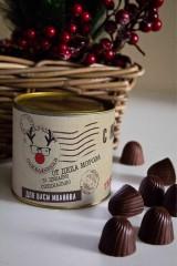 Банка шоколадных конфет с Вашим именем Новогодняя почта