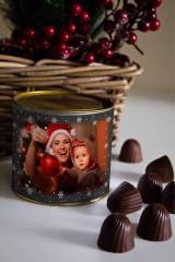 Банка шоколадных конфет с Вашим именем «Меловая доска»