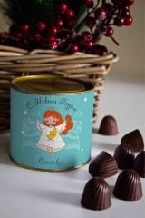 Банка шоколадных конфет с Вашим именем Ангел