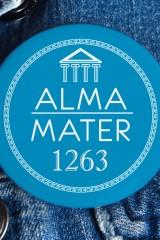 Значок с Вашим текстом My Alma mater