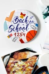 Магнит с Вашим текстом Back to school