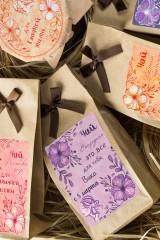 Набор чая подарочный с Вашим именем Flowers