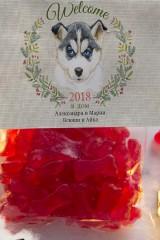 Мармелад  с Вашим текстом Год собаки