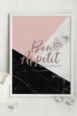 Постер 21х30 в раме Bon appetit