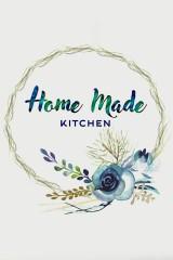 Постер 21х30 в раме Home made kitchen