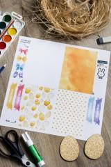 Пасхальный набор для декорирования с Вашим текстом Солнечная Пасха