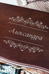 Шкатулка для ювелирных украшений «Сундучок» с вашим текстом Винтажный комод