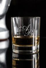 Стакан для виски с именной гравировкой Инициалы