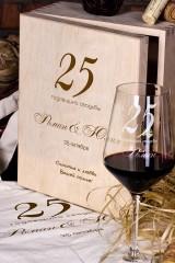 Набор бокалов подарочный с именной гравировкой К годовщине