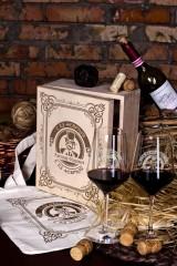 Набор бокалов подарочный с именной гравировкой Джентльмен клаб