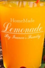 Бокалы для лимонада с именной гравировкой Homemade Lemonade