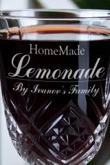 Набор бокалов с именной гравировкой Homemade Lemonade