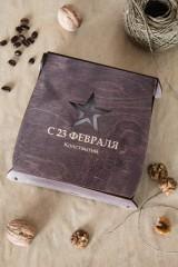 Подарочный набор кофе и орехи с Вашим именем Брутальный подарок