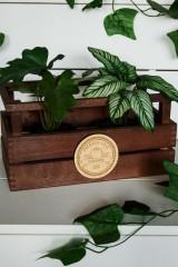 Деревянная бирка с Вашим текстом Овощная база