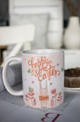 Кружка с вашим текстом «Happy Easter»