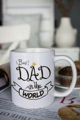 Кружка с вашим текстом Best Dad
