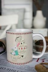 Кружка с вашим текстом Время пить чай