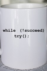 Кружка с вашим текстом Путь к успеху