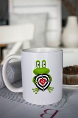 Кружка с вашим текстом «Царевна лягушка»