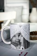 Кружка с вашим фото и текстом На День матери