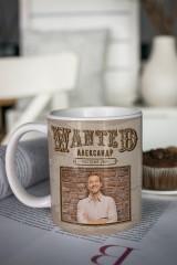 Кружка с вашим текстом Wanted
