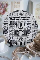 Тарелка декоративная с вашим текстом Фотографу