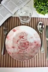 Тарелка декоративная с вашим текстом «Ты прекрасна»