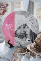Тарелка декоративная с вашим фото и текстом «На День матери»