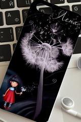 Чехол для iphone 5/5S с вашим текстом Цветы