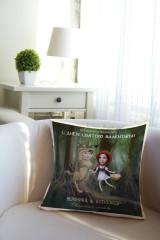 Подушка декоративная с Вашим именем «Красная шапочка»
