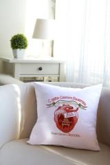 Подушка декоративная с Вашим именем Место в сердце