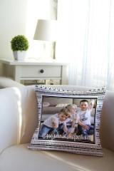 Подушка декоративная с Вашим именем Сладкие конфетки