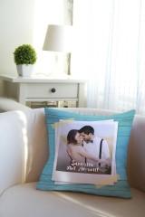 Подушка декоративная с Вашим именем Счастливый день