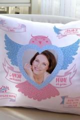 Подушка декоративная с Вашим именем Для любимой мамы
