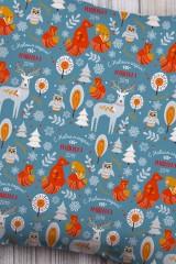 Подушка декоративная с Вашим именем Сказочный лес