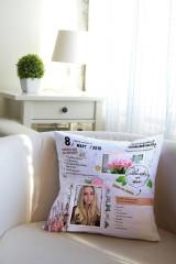 Подушка декоративная с Вашим именем «Личный дневник»