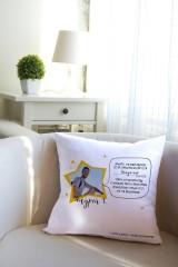 Подушка декоративная с Вашим именем Звездный друг