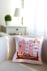 Подушка декоративная с Вашим именем Город