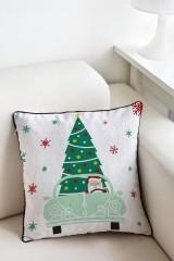 Наволочка «Дед Мороз за рулём»