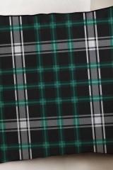 Наволочка Зеленая шотландка